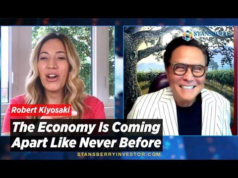 Robert Kiyosaki | Shift Your Mindset to a Major Crash, The Economy Is Coming Apart Like Never Before
