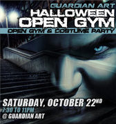 Guardian Art Halloween Open Gym Party -temporarily canceled-