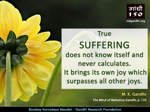 Thought For The Day ( SUFFERING )