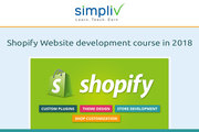 Shopify Website development course in 2018 - Simpliv