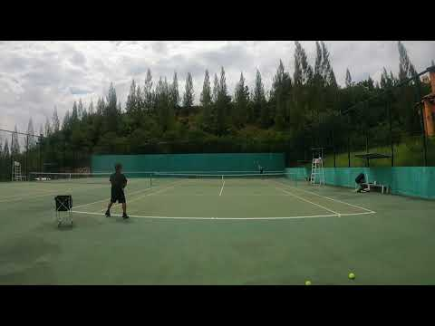 How to Drill Backhand Change of Direction:  dead ball and live ball