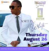 The Jazz Set Social at the Artisan Terrace   A Set in White Attire