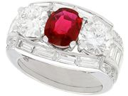Antique Ruby Rings