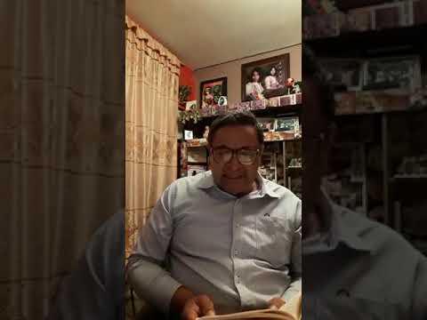 Norberto EL Herrera con poesía de su propia autoría