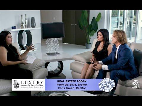 Inside South Florida Real Estate Trusted Advisors Broker Patty Da Silva and Realtor Chris Green
