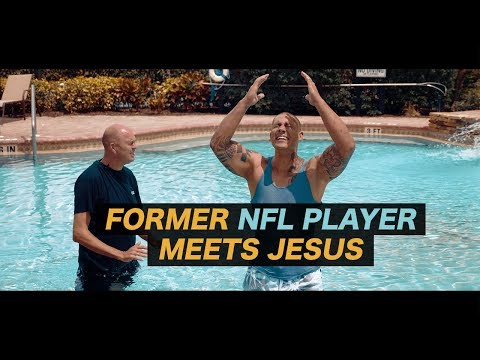 Former NFL football player meets Jesus and then...