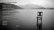 The beauty of Silence!