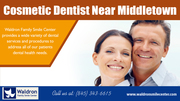 Cosmetic Dentist near Middletown