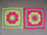 African Flower Squares
