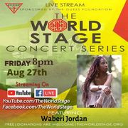 """WABERI JORDAN """"Welcome Back To: L.A. / Livestream Concert Series"""" (virtual) From: The 'new' World STAGE *updatez*"""