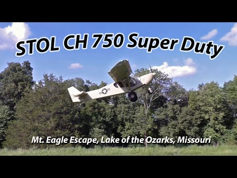 Backcountry Flying Short Takeoff and Landing: STOL CH 750 Super Duty