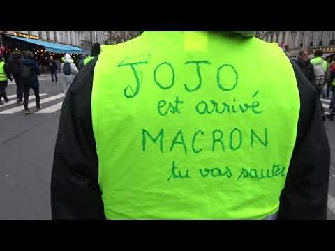 Manifestation Gilets Jaunes Paris Bastille 2 février 2019 Acte12 #57 @GiletsJaunesGo Jojo est arrivé