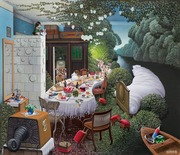 Dream feast ` Jacek  Yerka