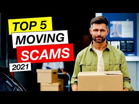 Top 5 Moving Company Scams And Red Flags (2021)