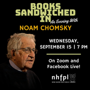 Books Sandwiched In:An Evening with Noam Chomsky