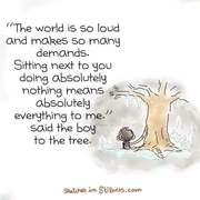 Stillness with Tree