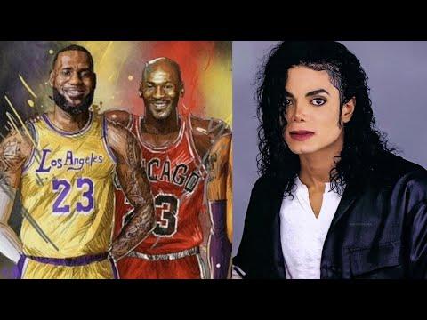 Everything Michael Jordan and LeBron James Have Said About Michael Jackson