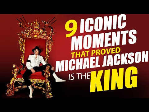 9 Iconic Moments That Proved Michael Jackson is The King | MJ Forever