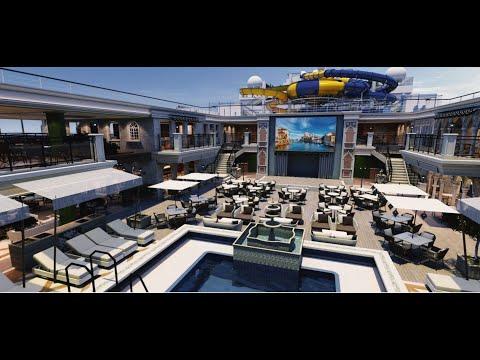 El Costa Firenze de Costa Cruceros es el elegido para la próxima edición del Crucero Ochentero 2021