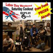 Saturday Cookout at Replay Airsoft Arena,