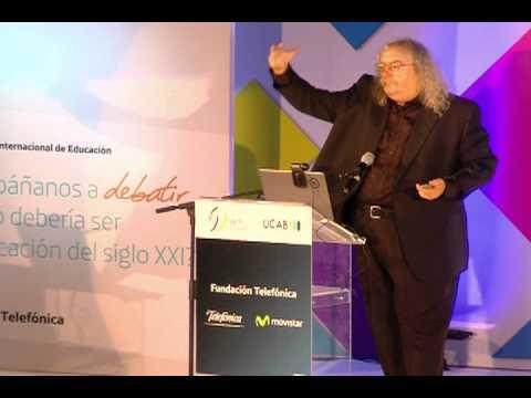 Stephen Downes en el Encuentro Internacional de Educación en Caracas