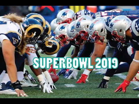 Superbowl 2019 Game preview || Rams Vs Patriots || Watch Live Online