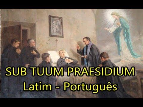 Sub Tuum Praesidium - LEGENDADO PT/BR