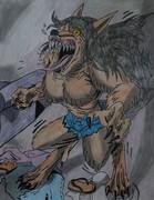 Sue's First Moon: Werewolf Transformation