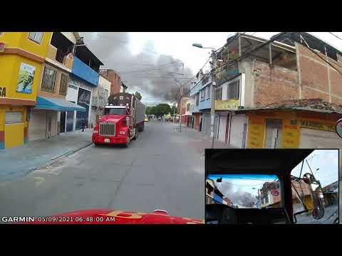 INCENDIO ESTRUCTURAL DE PRIMER PISO Y LOCAL COMERCIAL, RESPONDE BOMBEROS VOLUNTARIOS DE CALI - COLOMBIA