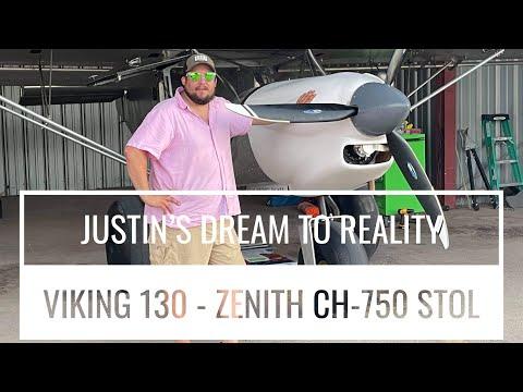 Justin's First Flight - A Dream Comes True
