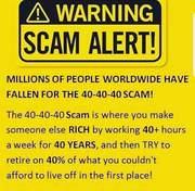 WARNING - SCAM ALLERT!
