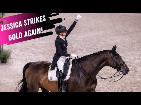 Jessica von Bredow-Werndl & Dalera Are On Fire @ The European Dressage Championships! 84% Grand Prix