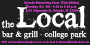 Orlando Networking Event (Pink Edition) at The Local Bar & Grill