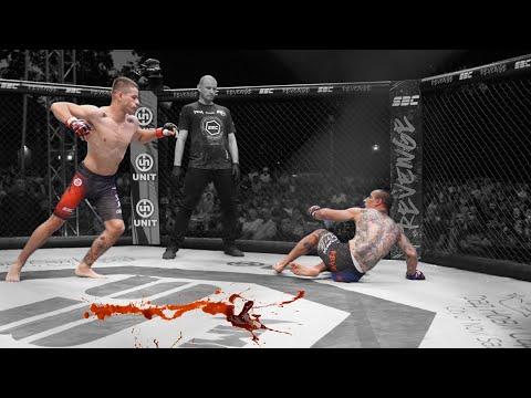 MMA nutshot (SBC 28 Revenge Nikola Egić vs Nemanja Prhić)