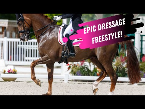 Catherine Dufour Dethrones the Queen of Dressage! EPIC Grand Prix Freestyle:  European Championships