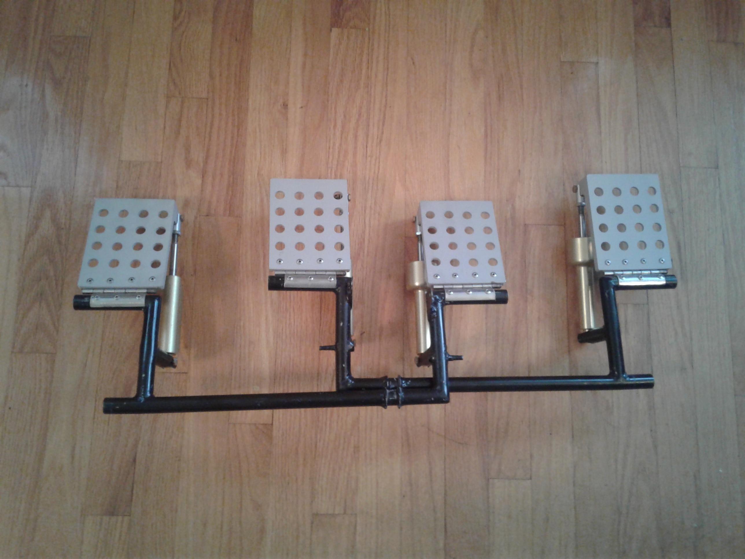 New Design Brake Pedals