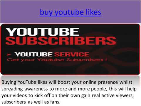 Buy genuine YouTube Subscribers