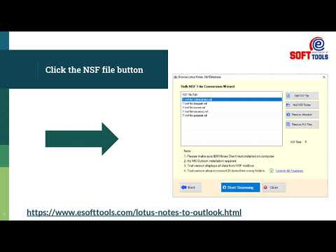 How to open Lotus Notes Archive file in Outlook