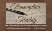 Transcription Tuesdays