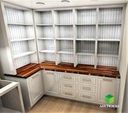 Butler walking-in pantry