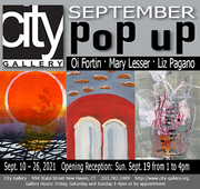 Don't Miss the September Pop-Up at City Gallery