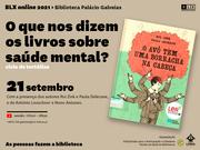 CONFERÊNCIA: O que nos dizem os livros sobre saúde mental?