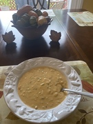 Large Bowl of She Crab Soup…..9/16/2021