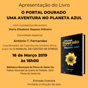 Apresentação do Livro O PORTAL DOURADO - UMA AVENTURA NO PLANETA AZUL