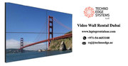 Video Wall Hire | Rent Video Walls for Events | LED Video Wall Rental -Techno Edge