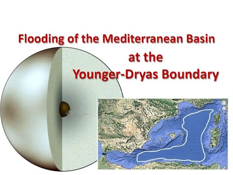 Flooding of the Mediterranean Basin at the Younger Dryas Boundary