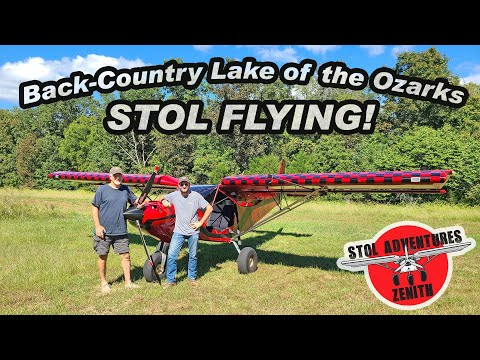 """Zenith """"Sky Jeep"""" back-country landing and short takeoff at Mt. Eagle Escape at Lake of the Ozarks"""