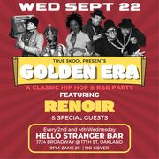 Golden Era with Renoir (aka Ren the Vinyl Archaeologist) and special guests