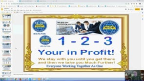 All In One Profits Auto AIOP System as Simple as 123 Your In Profit Webinar Replay 28th Jan 2019