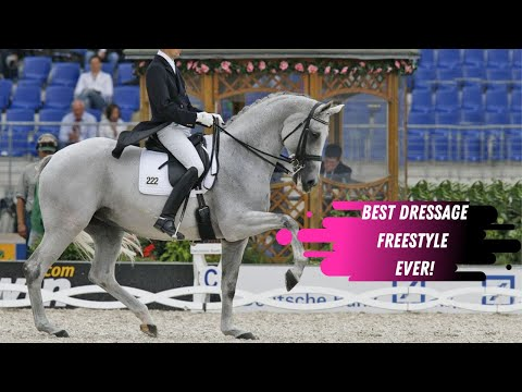 The Hip Hop Dressage Horse - Blu Hors Matine - The Best Grand Prix Dressage Freestyle Ever!
